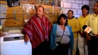 Fundación Cruzada Nueva Humanidad Entrega Lavandería a Rosa Álvarez