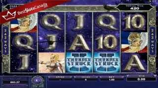 Thunderstruck II Slot Odin Super Big Win - BestSlotsCanada.com