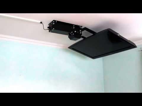 tv-deckenhalter-flasy-fl,-elektrisch-schwenkbar-mit-funkfernbedienung