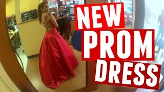 PICKING UP MY NEW PROM DRESS!!