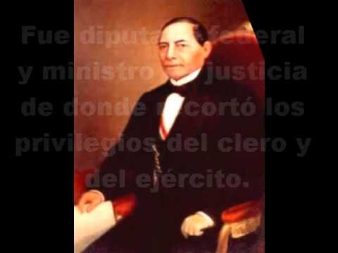 Benito Juarez resumen biografia