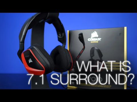 What is 7.1 Surround Sound? Featuring Corsair VOID Surround
