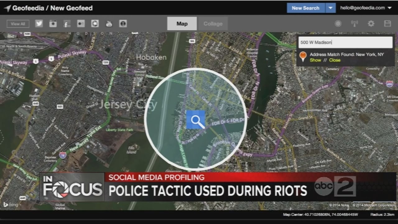 ACLU says police used social media to monitor protestors and make arrests during Baltimore unrest