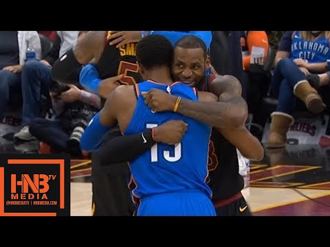 Cleveland Cavaliers vs Oklahoma City Thunder 1st Qtr Highlights / Jan 20 / 2017-18 NBA Season