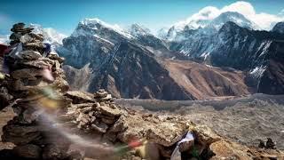 Флейта, пение ветра и медных тибетских чаш 4,5 часа звуков природы