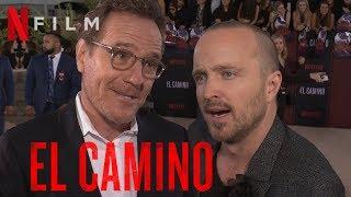 EL CAMINO Interview mit Aaron Paul (Jesse) & Bryan Cranston (Walter White) | Netflix | BREAKING BAD