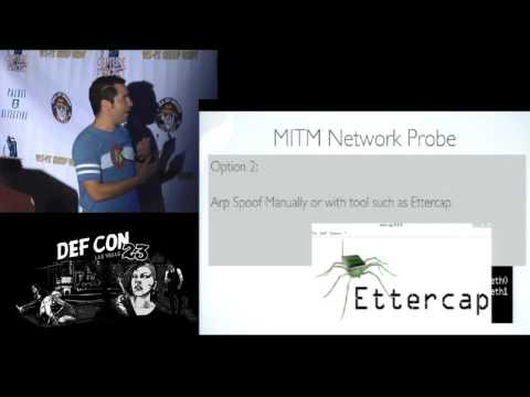 DEF CON 23 - Packet Hacking Village - Penetration Testing Using a Raspberry Pi