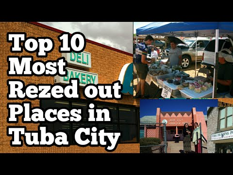 Top 10 Most Rezed out Places in Tuba City