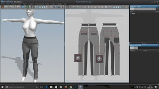 Owl Huggs Marvelous Designer 2 Second Life Trousers JEAN