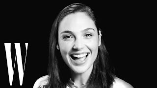 Gal Gadot on Wonder Woman Costumes and Her Eye-Opening Pregnancy | Screen Tests | W Magazine