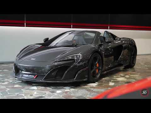 2017 McLaren 675LT Spider Carbon Edition - Scuderia Graziani