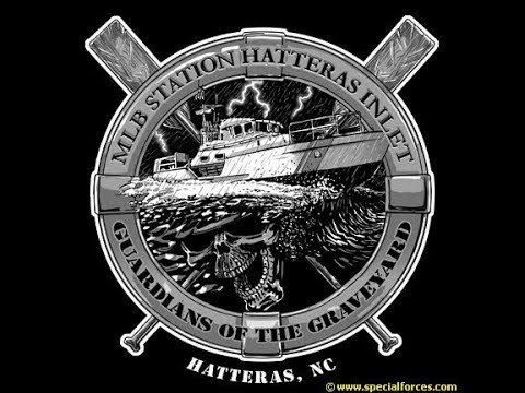 Tour of my first USCG Duty Station Hatteras Inlet Early 2001