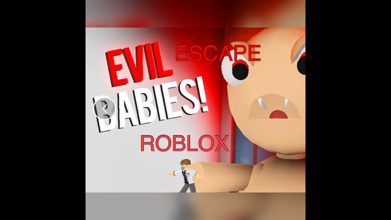 Escape The Evil Baby Obby Roblox Youtube