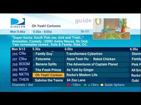 Direct Tv Nicktoons Network 2007 Youtube