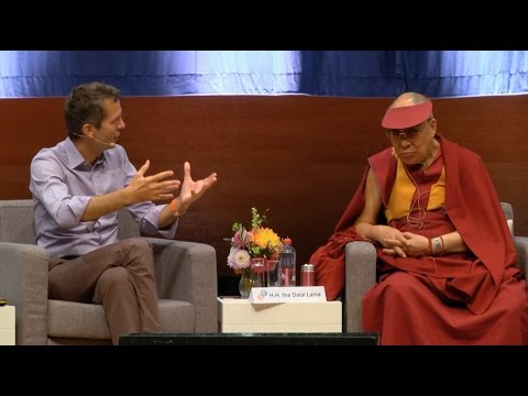 Presenting the ideas of Reinventing Organizations to His Holiness the Dalai Lama