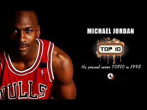 MICHAEL JORDAN PERSONAL TOP10 (1992)