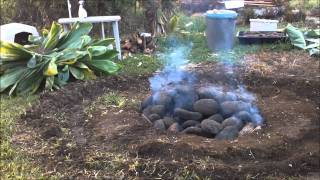 Making Kalua Pig.wmv