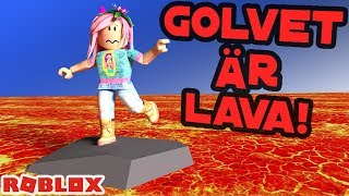 The floor is lava! 🌋 ROBLOX English