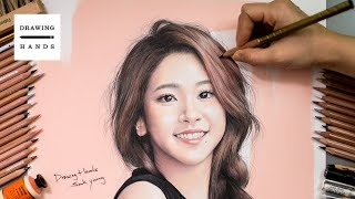 Speed Drawing Twice - Chaeyoung [Drawing Hands]