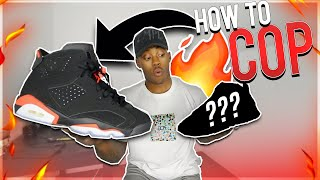 If you're trying to figure out how to cop the new Air Jordan 6 Infr...