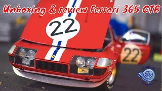Unboxing & review of the Ferrari 365 GTB Daytona by kyosho