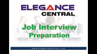 Job Interview Preparation |  Elegance Central |  HRMS