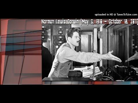 NORMAN CORWIN ::: CBC RADIO ::: 9 JAUARY 2000