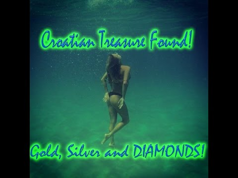 Croatian Treasure Found In The Sea! Gold, Silver and Diamonds!