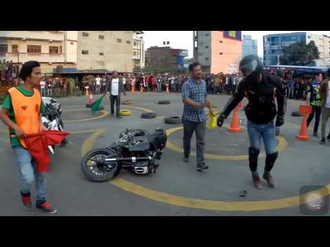 Fight and Crashes scene in NEPAL TALENT CUP 2019