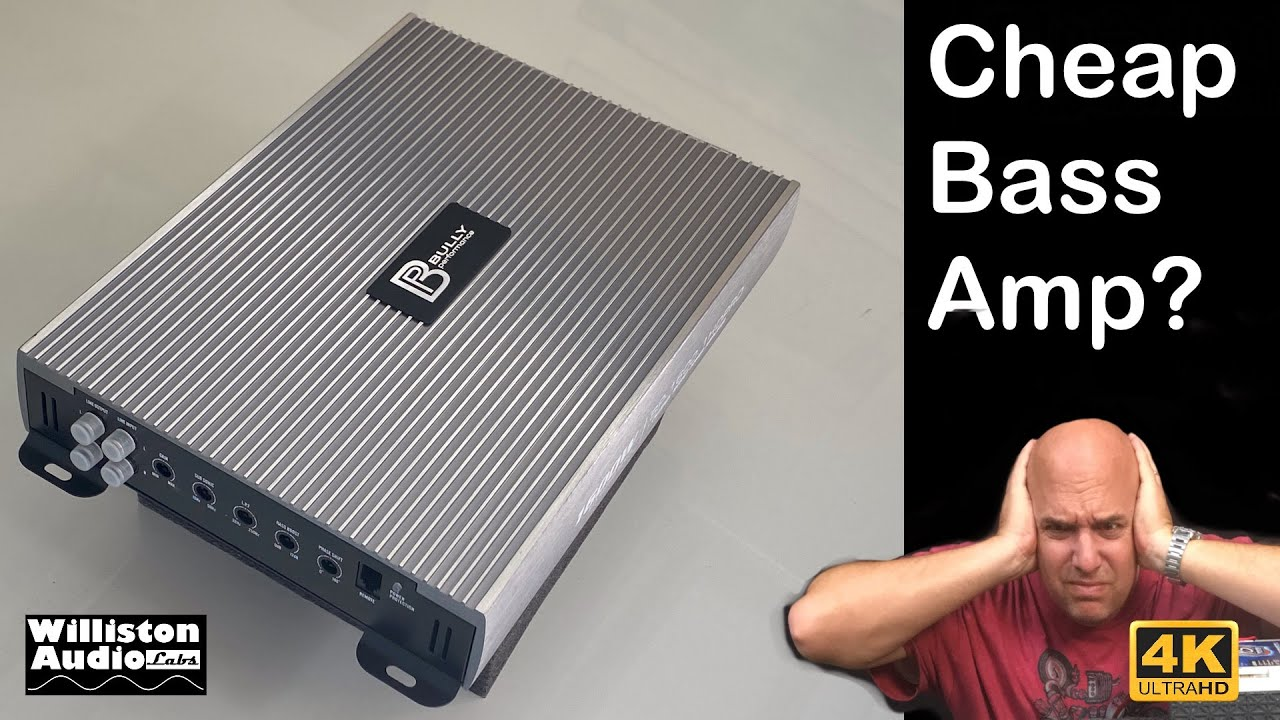 How Good is a $65 Amazon Bass Amp? Bully Performance BP-1600.1 HDPRO Review and Test - download from YouTube for free