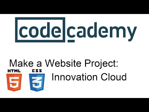 Make a Website Project: Innovation Cloud