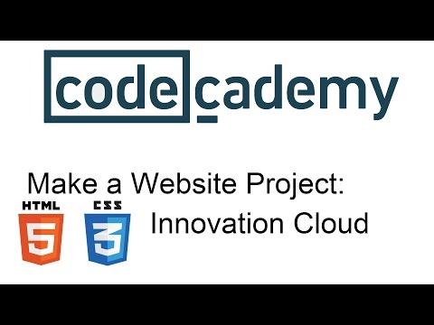 Make A Website Project: Innovation Cloud