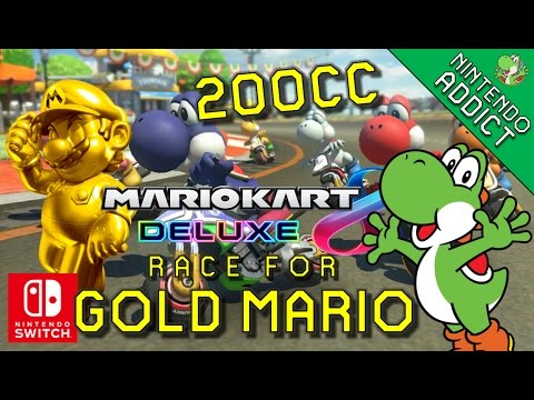 race for gold mario 200cc grand prix live all cups mario kart 8 deluxe nintendo switch. Black Bedroom Furniture Sets. Home Design Ideas
