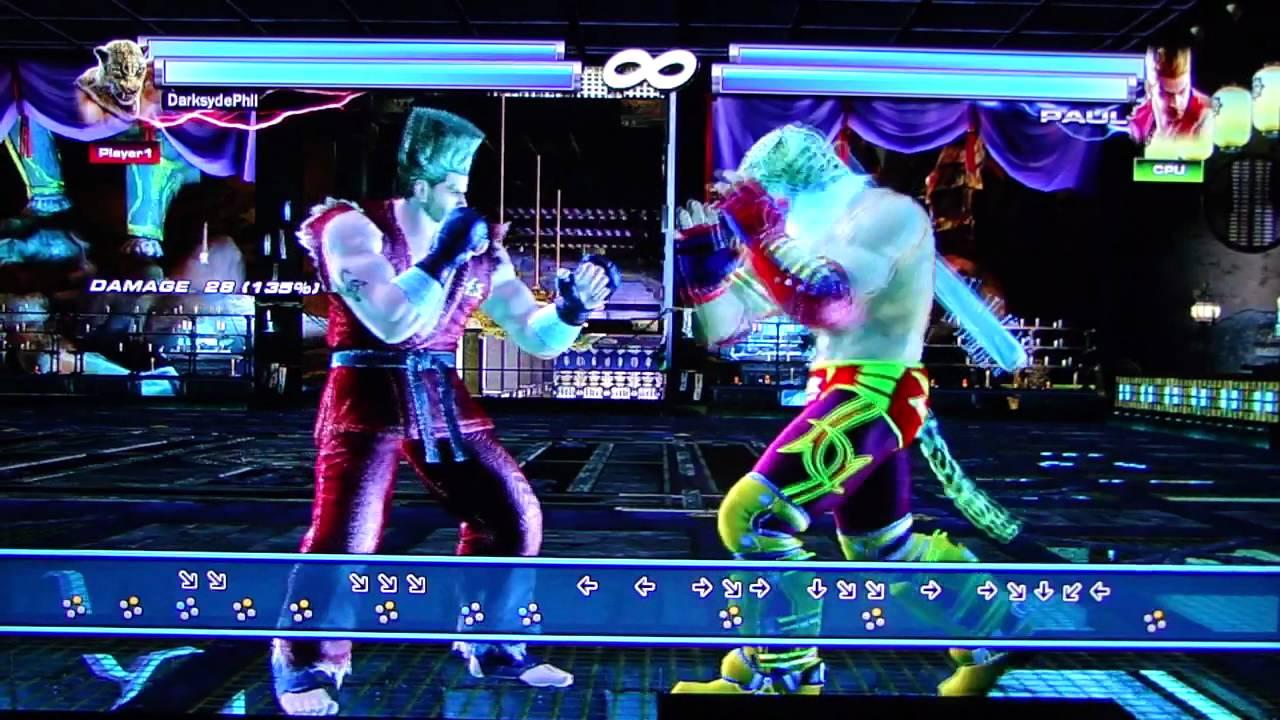Tekken Tag Tournament 2 - King Practice Mode pt1 - YouTube