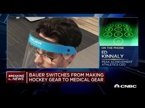 bauer-switches-from-making-hockey-gear,-takes-shot-at-medical-gear