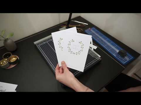 DIY Print Your Wedding Invitation - Front & Back