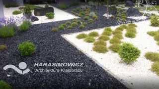 Aranżacja ogrodu przy biurowcu - Harasimowicz Architektura Krajobrazu - Toruń 2013