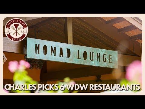 Charles Picks Six Walt Disney World Restaurants   Disney Dining Show   05/1818