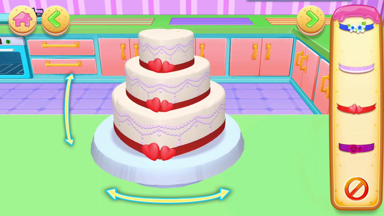 real3d wedding cake game for bridal shower how to make cakes real cake compilation