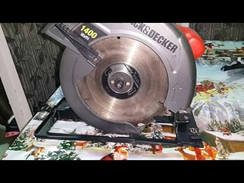 Serra Circular Black & Decker 1400w C/ Maleta Cs1020k 110 V