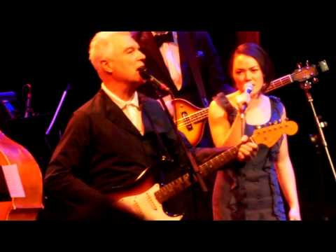"""And She Was"" - David Byrne - St Anne's - Brooklyn Jan 8 2014"