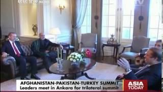 Afghanistan-Pakistan-Turkey Leaders Meet in Ankara For Trilateral Summit