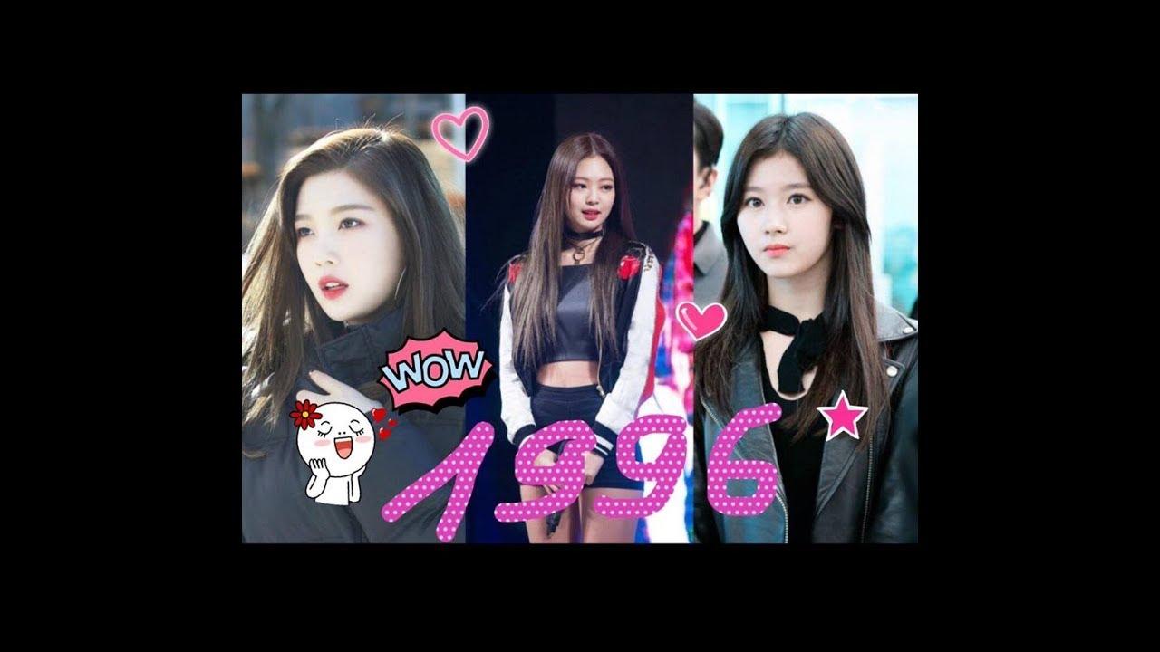 [ K-Pop ] Female Kpop Idols Born In The 1996