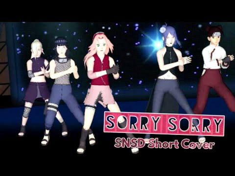 【MMD】Sorry Sorry【SNSD Short Cover】