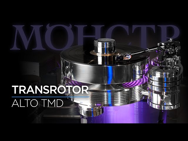 Проигрыватель винила Transrotor Alto TMD