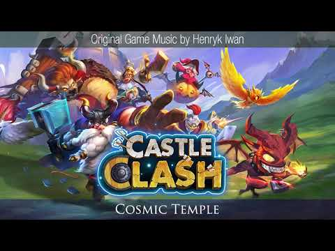 Castle Clash - Cosmic Temple (background Music)