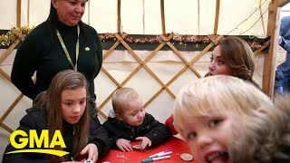 Kate Middleton photobombed by cheeky toddler