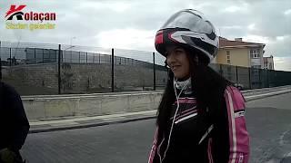 Bilerek Motorcuya vuran Şahinci | Düşürüp Kaçtı | Kask Kamerası Görüntüleri Sizden Gelenler 6