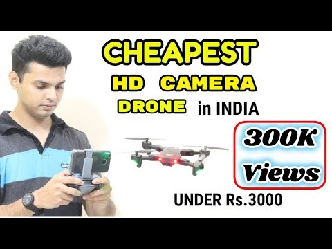 Cheapest HD Camera Drone in INDIA | Under Rs.3000 | VISUO