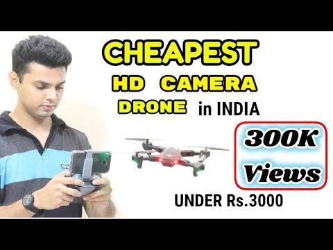 Cheapest HD Camera Drone in INDIA   Under Rs.3000   VISUO
